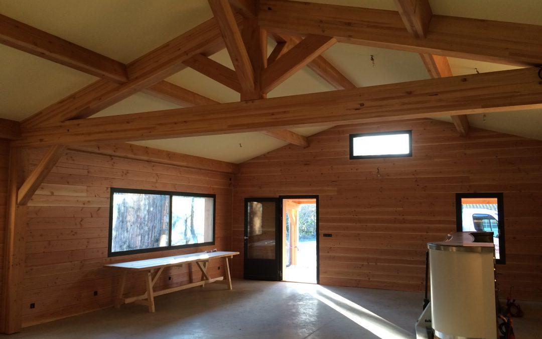 Maison ossature bois dans le Vaucluse